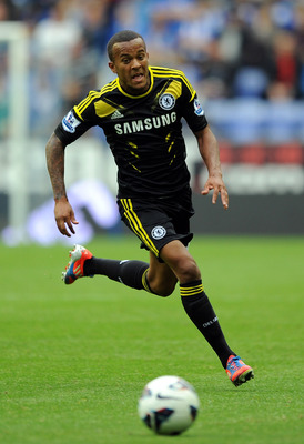 Ryan Bertrand chasing down a ball
