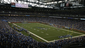 Ford Field is the home of the Detroit Lions and the Little Caesars Pizza Bowl.