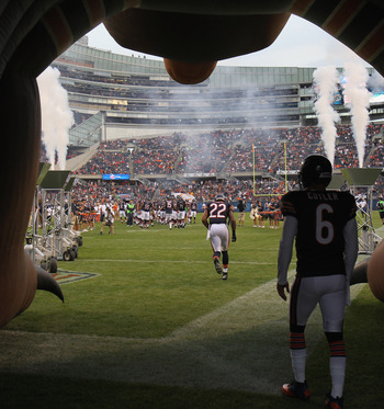 Jay Cutler and the Chicago Bears have had great success at Soldier Field over the past several seasons.