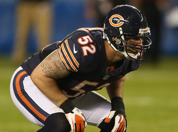 Chicago Bears linebacker Blake Costanzo