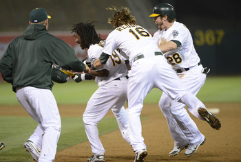 No team has been more exciting late than the Oakland A's