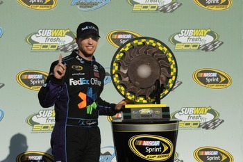 Is it time for Denny Hamlin to become No. 1 at JGR?