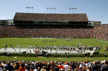 Jordan-Hare stadium last fall for Auburn vs. Mississippi State