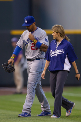All-Star center fielder Matt Kemp has missed 56 games in 2012 with hamstring and shoulder injuries.