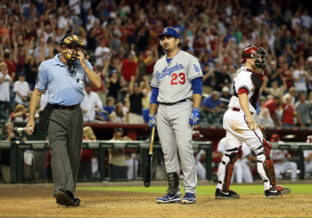 Adrian Gonzalez has struggled at the plate since returning to his Southern California roots.