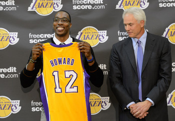 Get healthy Dwight; Lakers fans are throwing out the red carpet.