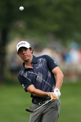 Rory McIlroy has proven he can get up and down from anywhere.