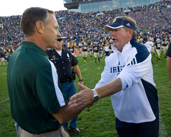 Mark Dantonio and Brian Kelly