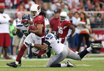 Larry Fitzgerald is one of the game's best wideouts.