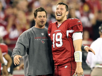 Expect Kevin Kolb to be under center this Sunday.