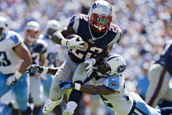 Stevan Ridley will look to have another strong performance in Week 2.