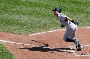 Ichiro smacked the ball all over Oriole Park, racking up eight hits in the crucial series.