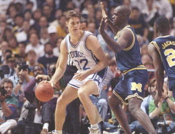 Christian Laettner frustrated college basketball fans everywhere.