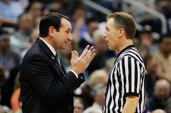 UNC fans can't stomach Duke coach Mike Krzyzewski.