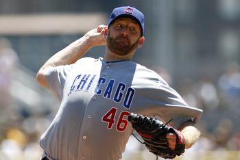 Dempster was traded to the Rangers at the trade deadline