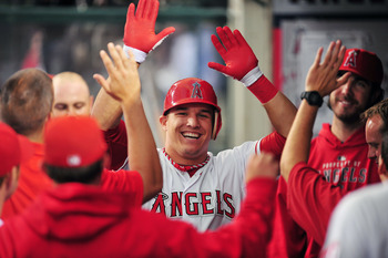 Mike Trout is making everyone forget he is just a rookie.