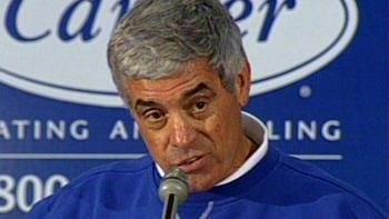 We're not kidding you, Jim Mora. We're still talking about playoffs.