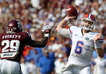 Jeff Driskel has led the team to a perfect 2-0 record in 2012.
