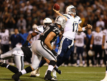 Rivers was careful with the ball against the Raiders, a refreshing fantasy change from 2011.