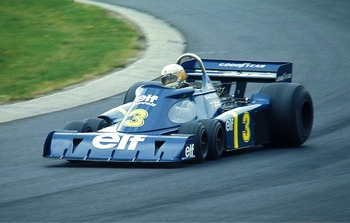 The Tyrrell-Ford P34 in its 1976 spec - courtesy of Lothar Spurzem