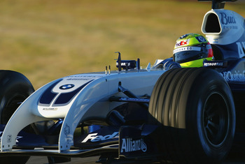 """I am the walrus"" sang Ralf Schumacher in the Williams FW26"