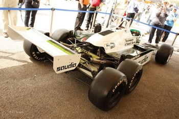 Williams FW08B, Goodwood, 2012 - image courtesy of F1Fanatic.co.uk