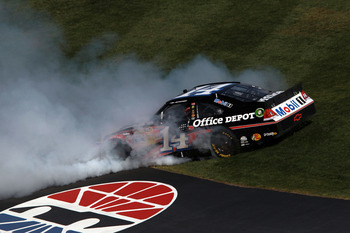 Tony Stewart waited just three races to get his first win of 2012