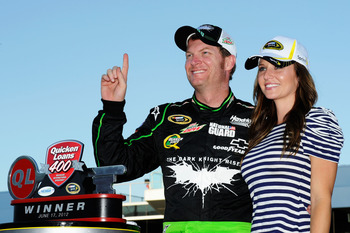 Dale Earnhardt Jr. broke a four-year winless streak at Michigan