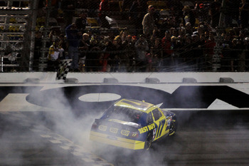 Matt Kenseth has dominated on plate tracks and earned his second Daytona 500 victory in 2012