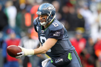 Matt Hasselbeck did not produce gawdy numbers in 2005, but he managed to lead Seattle to the Super Bowl.