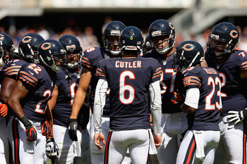 Jay Cutler led a prolific Bears offense that put up 41 points against the Indianapolis Colts.