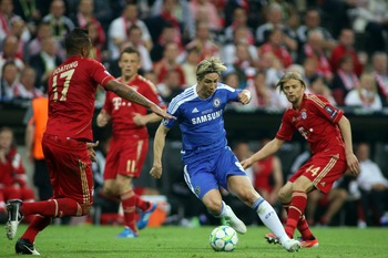 Torres played a key part in last year's successful Champions League campaign.
