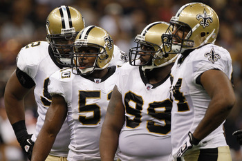 The Saints' defensive line needs to pressure their opposition if they want to win.