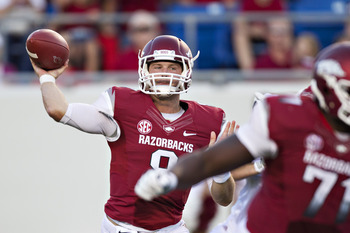 Quarterback Tyler Wilson's availability for this weekend's game is still in doubt.