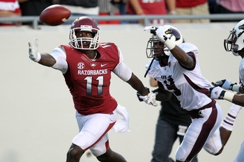 Wide receiver Cobi Hamilton is a preseason first-team All-SEC selection.