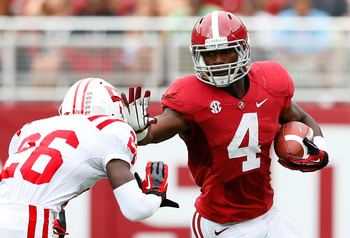 Running back T.J. Yeldon and the Tide ground game will look to get back on track against the Hogs this weekend.
