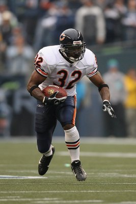 Cedric Benson as member of Chicago Bears.