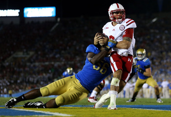 Martinez leads a dynamic rushing attack this season for the Cornhuskers.