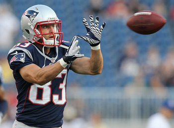 Welker saw his targets decline in Week 1
