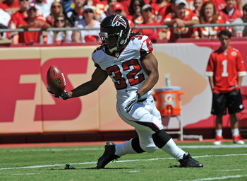 Jacquizz Rodgers and Atlanta's running game left much to be desired