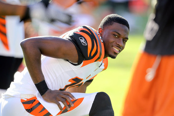 A.J. Green is happy that Joe Haden will not be playing in Week 2