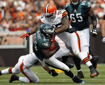 The Browns defensive line will look to take advantage of an injured Bengals offensive line.