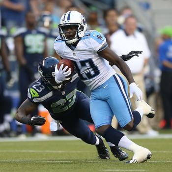 The Titans will take on the Chargers in Week 2, and Kendall Wright will do what needs to be done for his highlight reel.