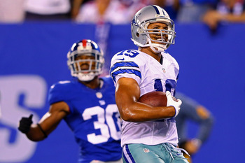 Miles Austin was one catch away from being a major fantasy disappointment in Week 1.