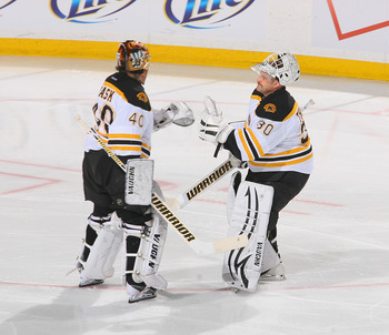 Tuukka Rask will be taking over the starting job for the Bruins this season.