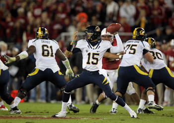 Zach Maynard has to play exceptionally well for Cal to have a chance to upset the Buckeyes.
