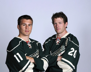 Parise and Suter will have to carry the laod for a Wild team that underperformed last season