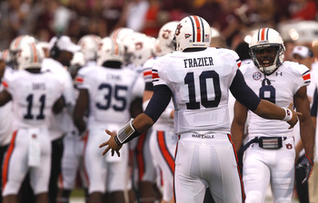 Auburn QB Kiehl Frazier