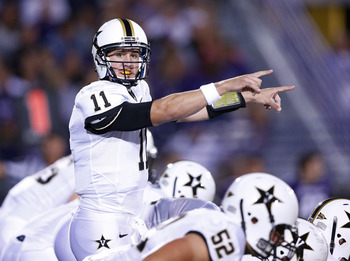 Vanderbilt QB Jordan Rodgers