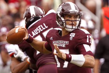 Mississippi State QB Tyler Russell